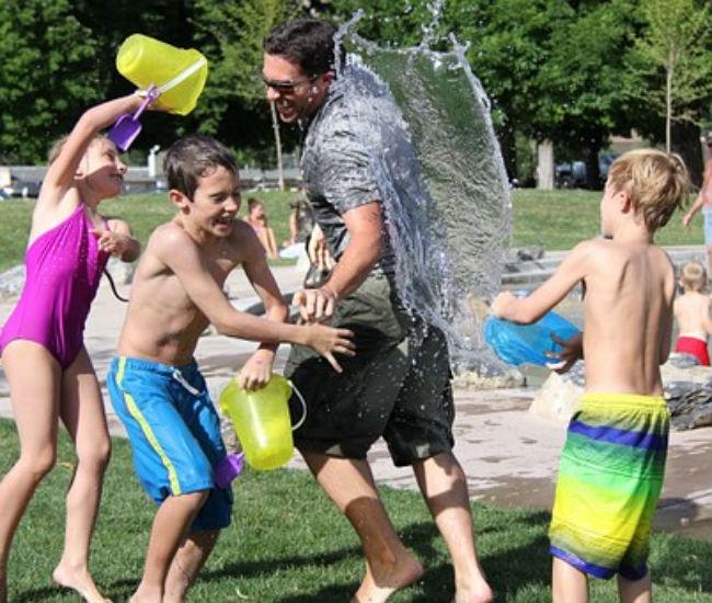 Actividades al aire con tu familia